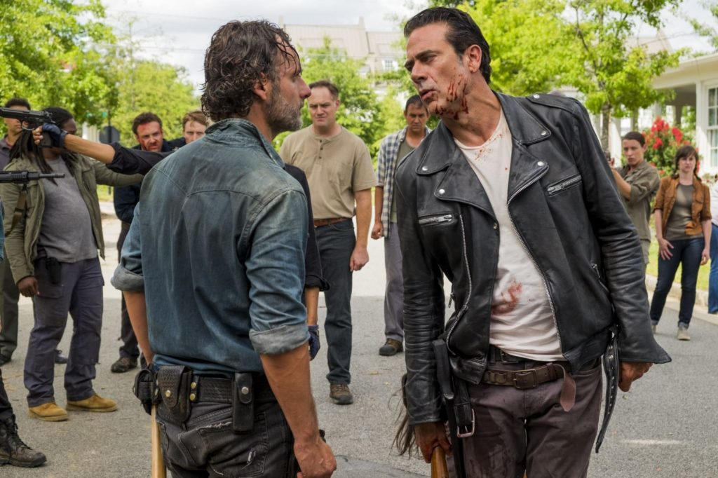 rick and negan who's the better leader